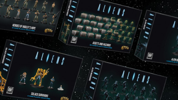 Gale Force Nine Offer Up New Aliens Board Miniatures Separately!