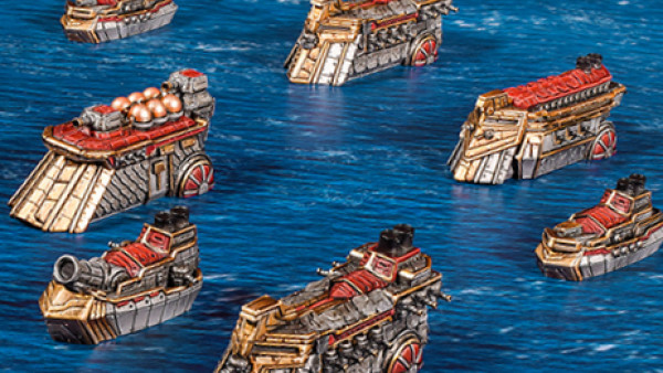 Pick Up A New Dwarf Fleet For Mantic Games' Armada