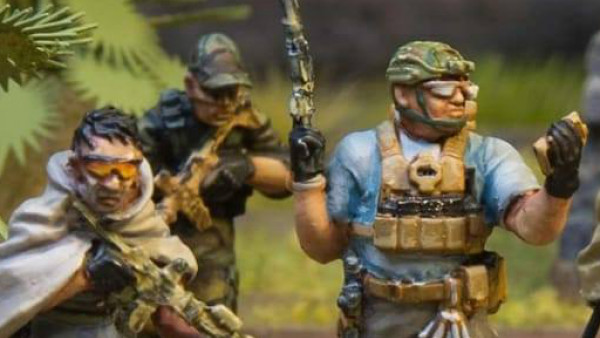 New Delta Assault Squad Available From Spectre Miniatures
