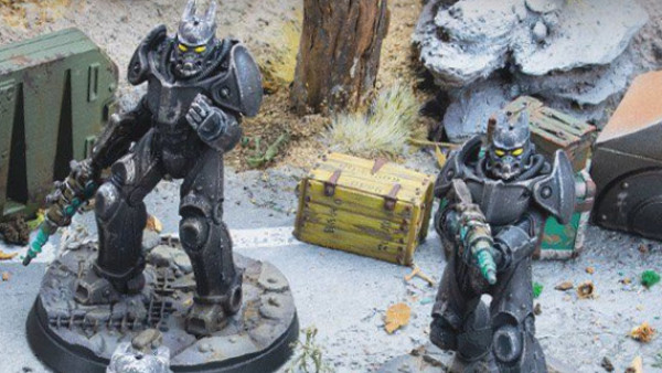 Enclave Soldier & Tesla Sets For Fallout: Wasteland Warfare