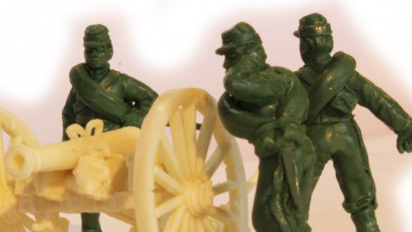 The Perry's Peek At New Franco-Prussian War Metal Artillery