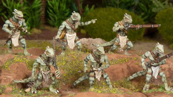 Pre-Release Available For Wargames Atlantic Lizardmen
