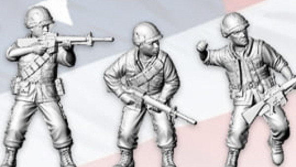 Rubicon Show Off Details Of New Vietnam War USMC Sprues