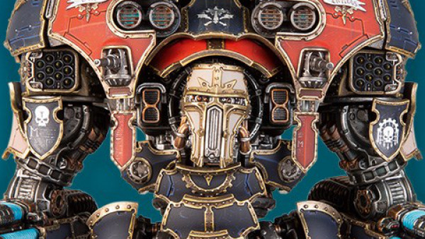 Go Even Bigger With Adeptus Titanicus' Warmaster Titan