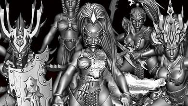 Build Your Own Dark Elf Princess With Avatars Of War