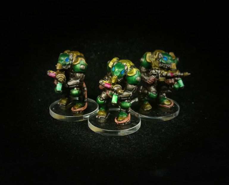 Volt Runners painted by Paul