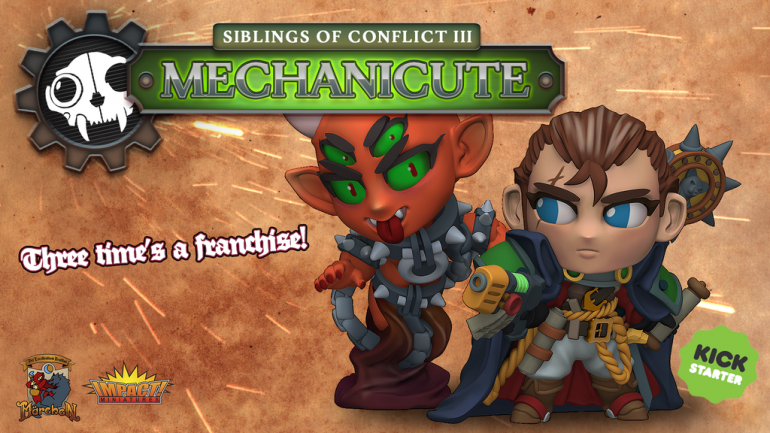 Mechanicute - Chibi Miniatures - Digital STL & Physical
