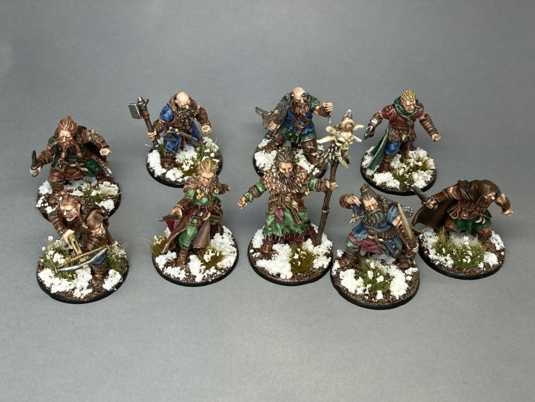 The Warband So Far
