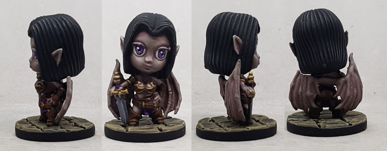 Small World Sophie by Reaper.  My first ever Chibi