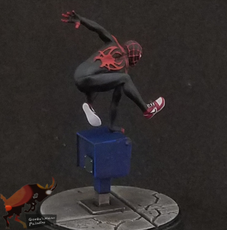 Miles Morales and Ghost Spider