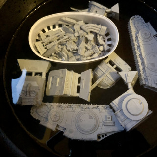 Macrocarid Explorator Cleaning/Assembly