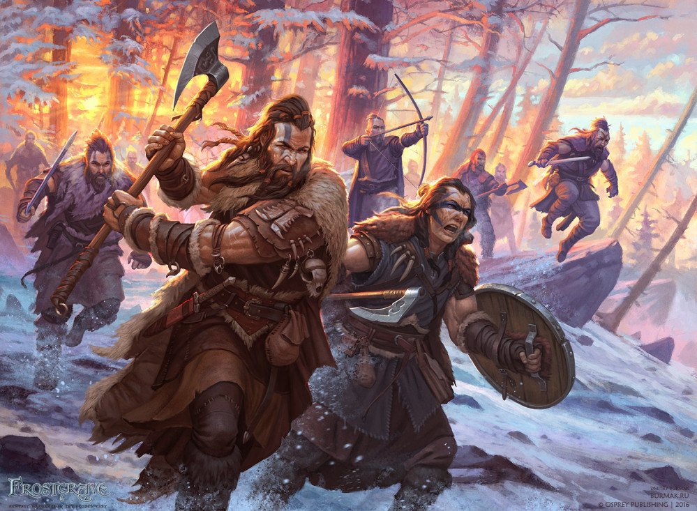 Barbarian Warband For Frostgrave