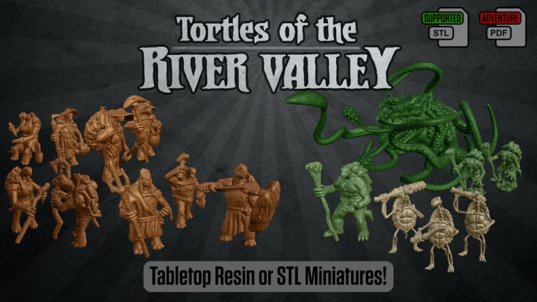 Tortles Of The River Valley