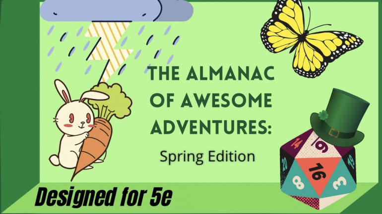Almanac of Awesome Adventures: Spring