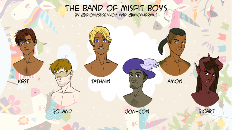 The Band of Misfit Boys: A D&D5e Zine
