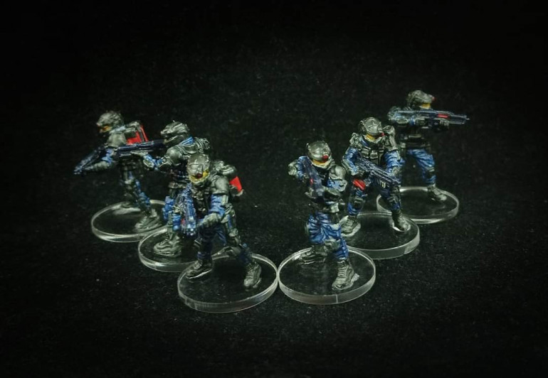 Rangers painted by Paul