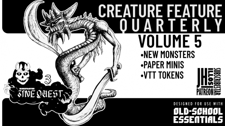 Creature Feature Quarterly Vol. 5 - for use with - OSE