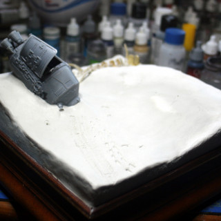 Some more work on the base.