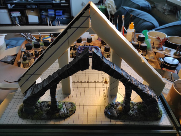 I'm currently working on an expansion for my Bleak Falls Barrow terrain set.