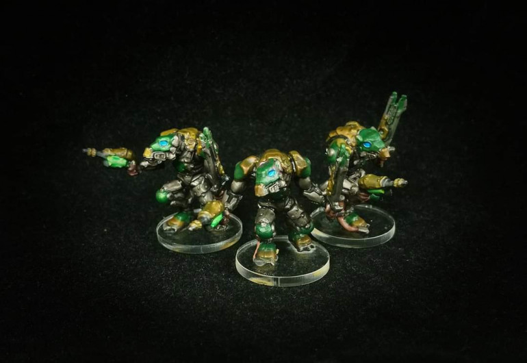 Volt Stalkers painted by Paul