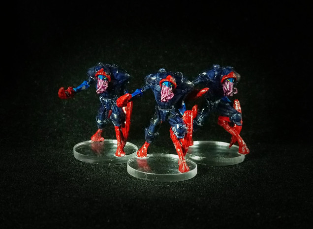 Nameless Assassins painted by Ian