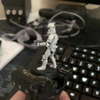 Clone Trooper Phase 1 Test Paint