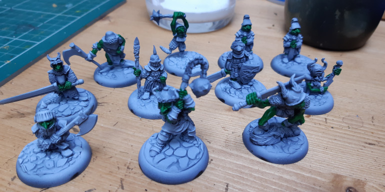Starting the Goblins