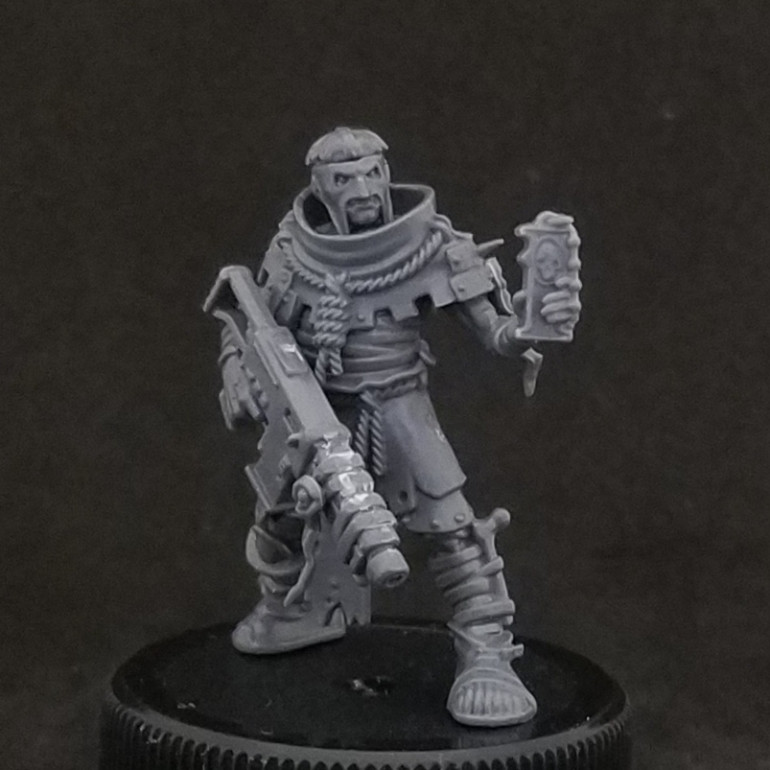 The priests conveting/bits bashing
