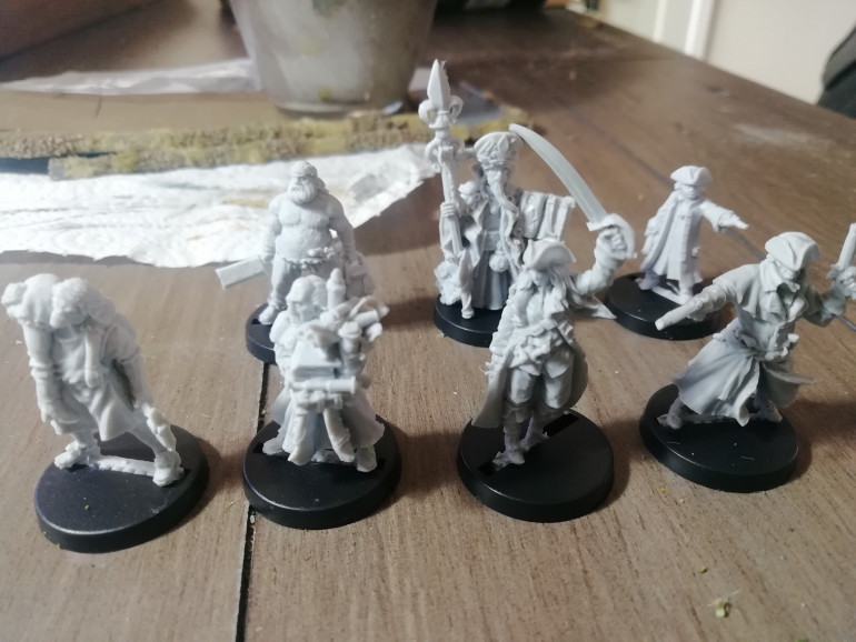 For the high seas I have some hired hands to add to my crews