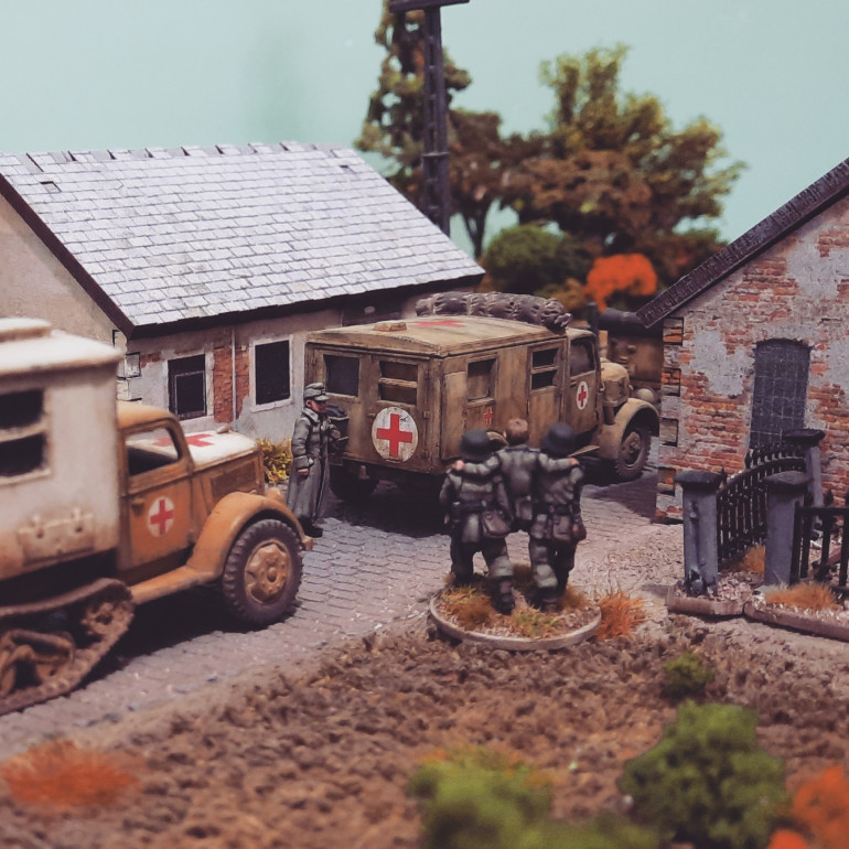 New 20mm MDF buildings