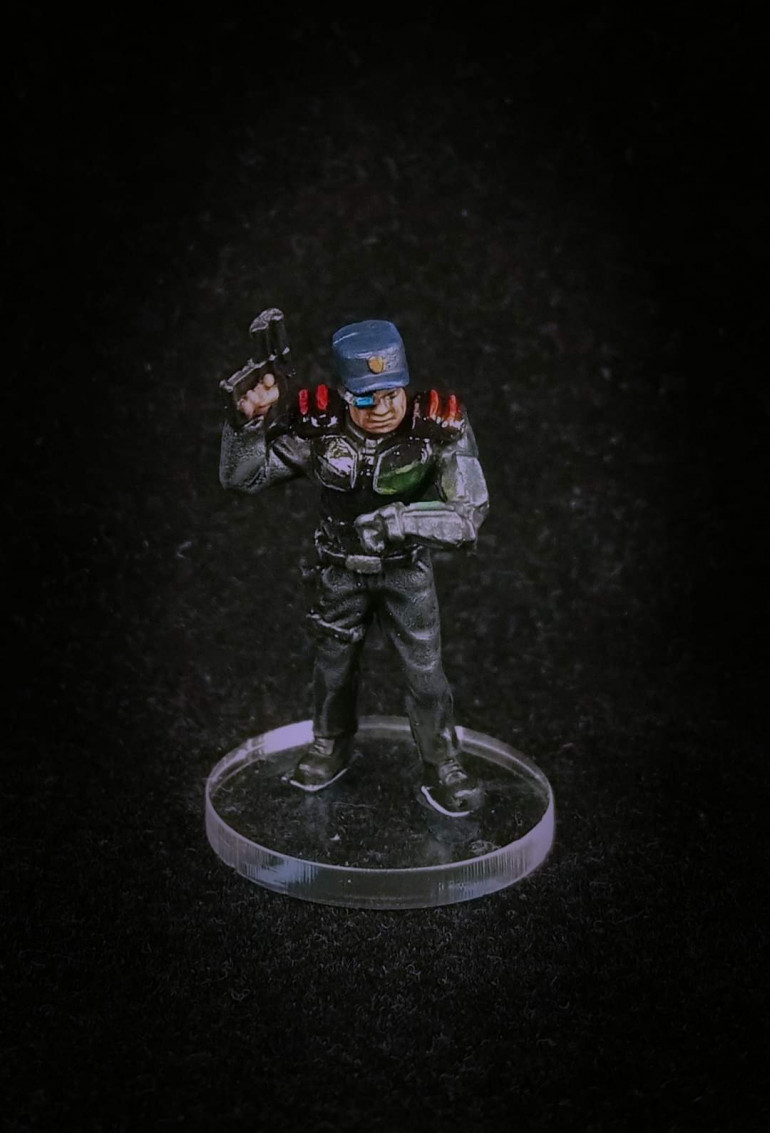 Guard Commander Graves painted by Paul