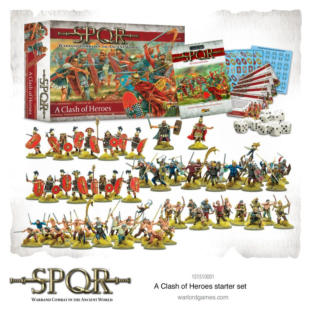 A Clash Of Heroes Starter Set - Warlord Games