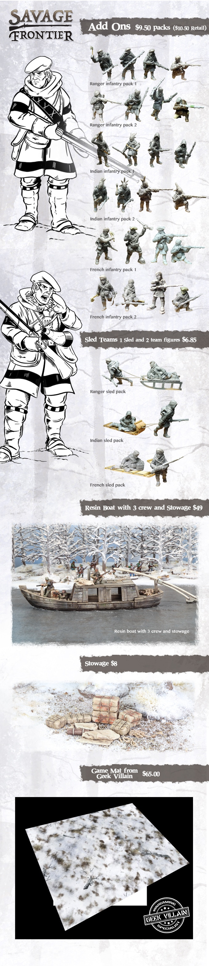 Add-Ons - Footsore Miniatures