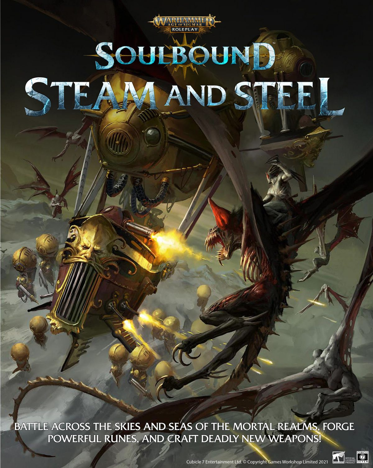 Age Of Sigmar Soulbound Steam & Steel - Cubicle 7