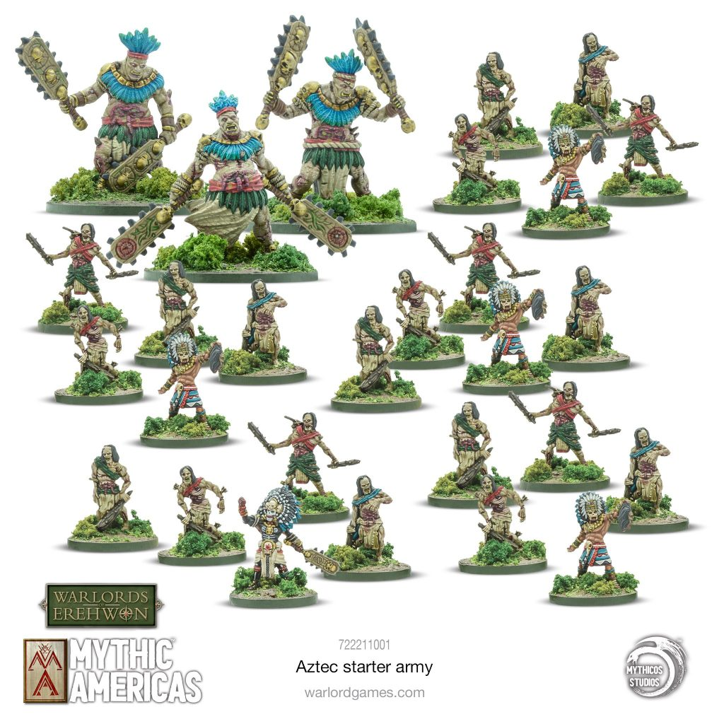 Aztec Starter Warband - Warlord Games