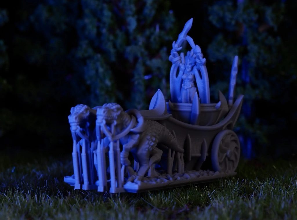 Blood Queen Chariot - Printing In Detail