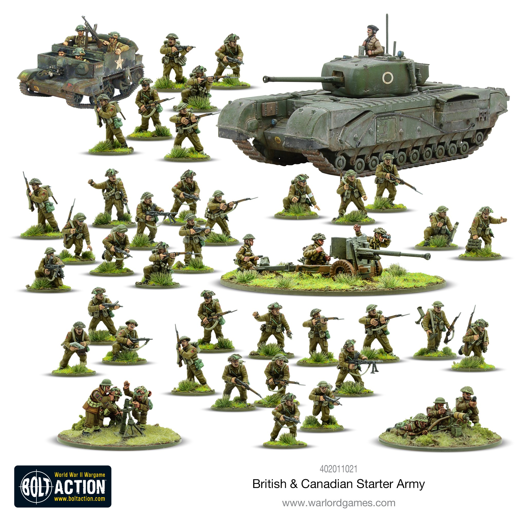 British & Canadian Starter Army - Bolt Action