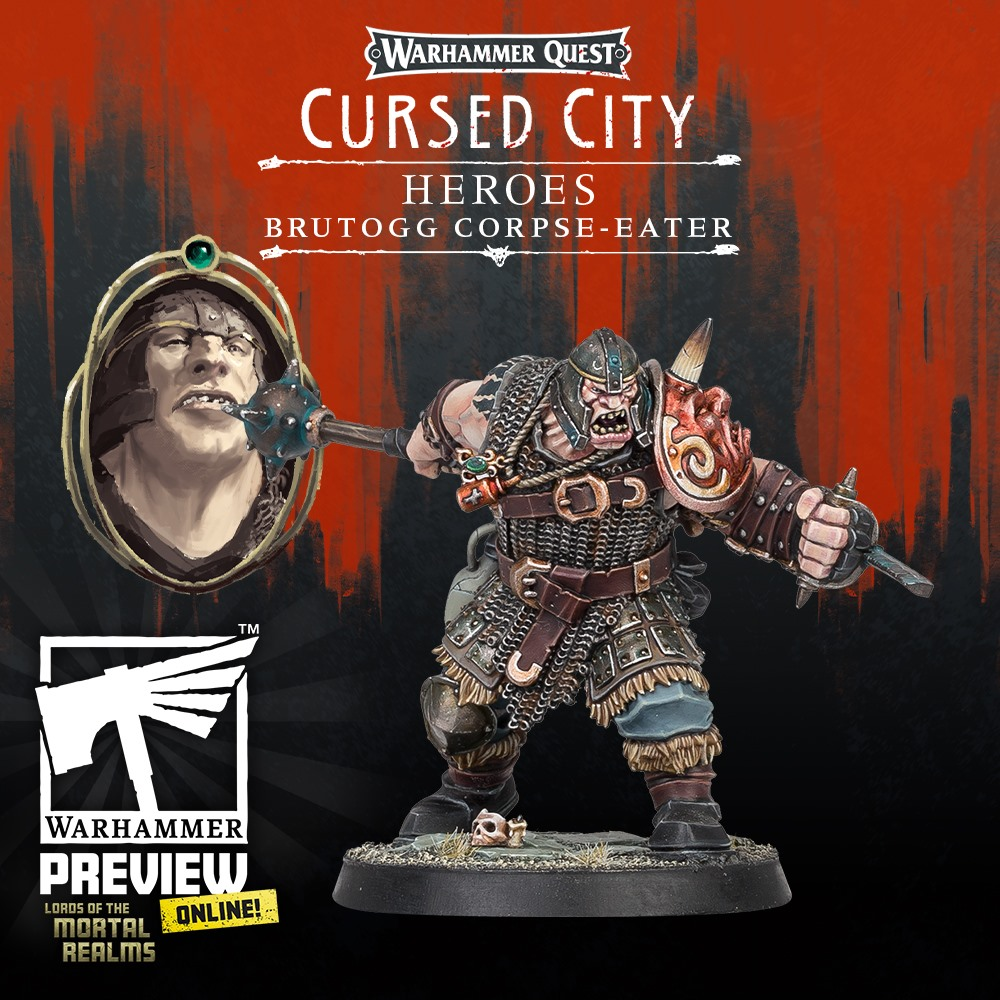 Brutogg Corpse Eater - Warhammer Quest Cursed City