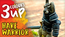 Burrows & Badgers Miniature Painting Tutorial –  Hare Warrior