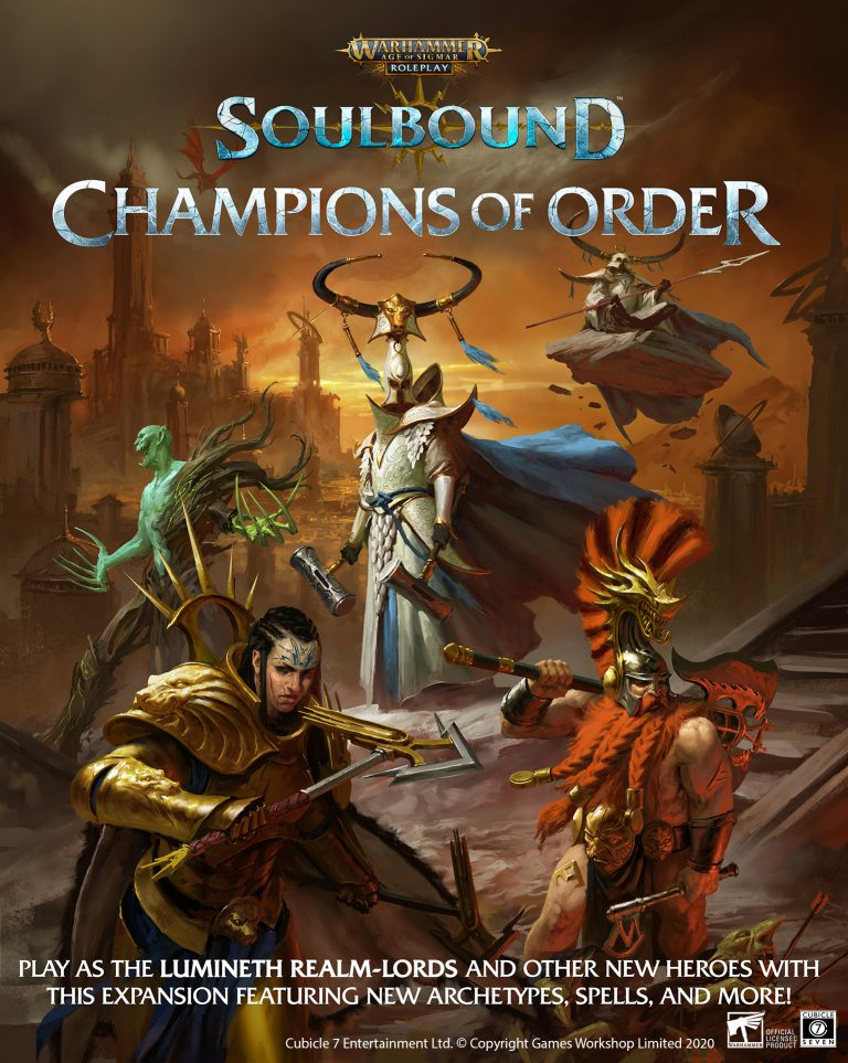 Champions Of Order Cover - Cubicle 7