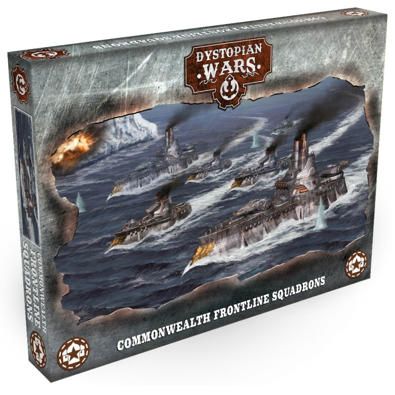 Commonwealth Frontline Squadrons - Dystopian Wars