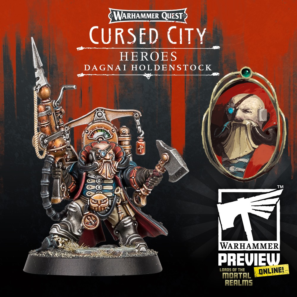 Dagni Holdenstock - Warhammer Quest Cursed City
