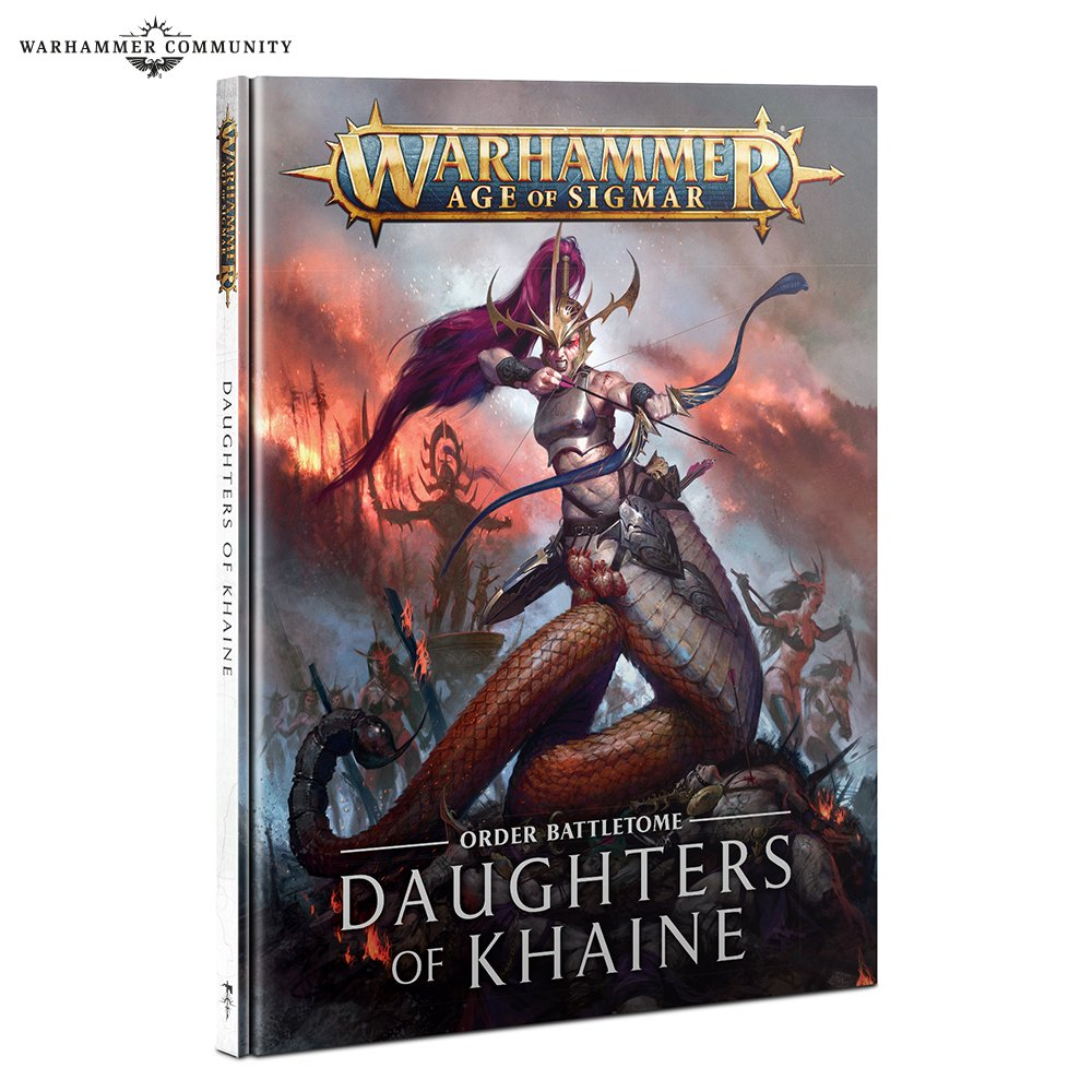 Daughters Of Khaine Battletome 21 - Age Of Sigmar