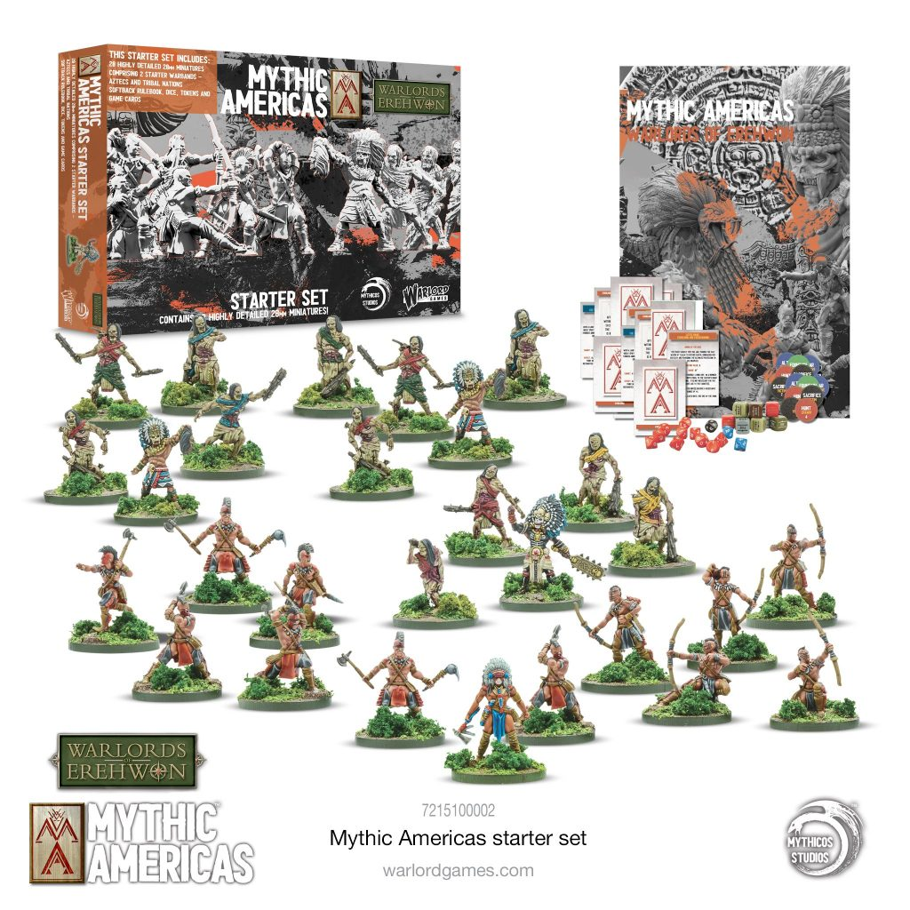 Mythic Americas Starter Set - Warlord Games