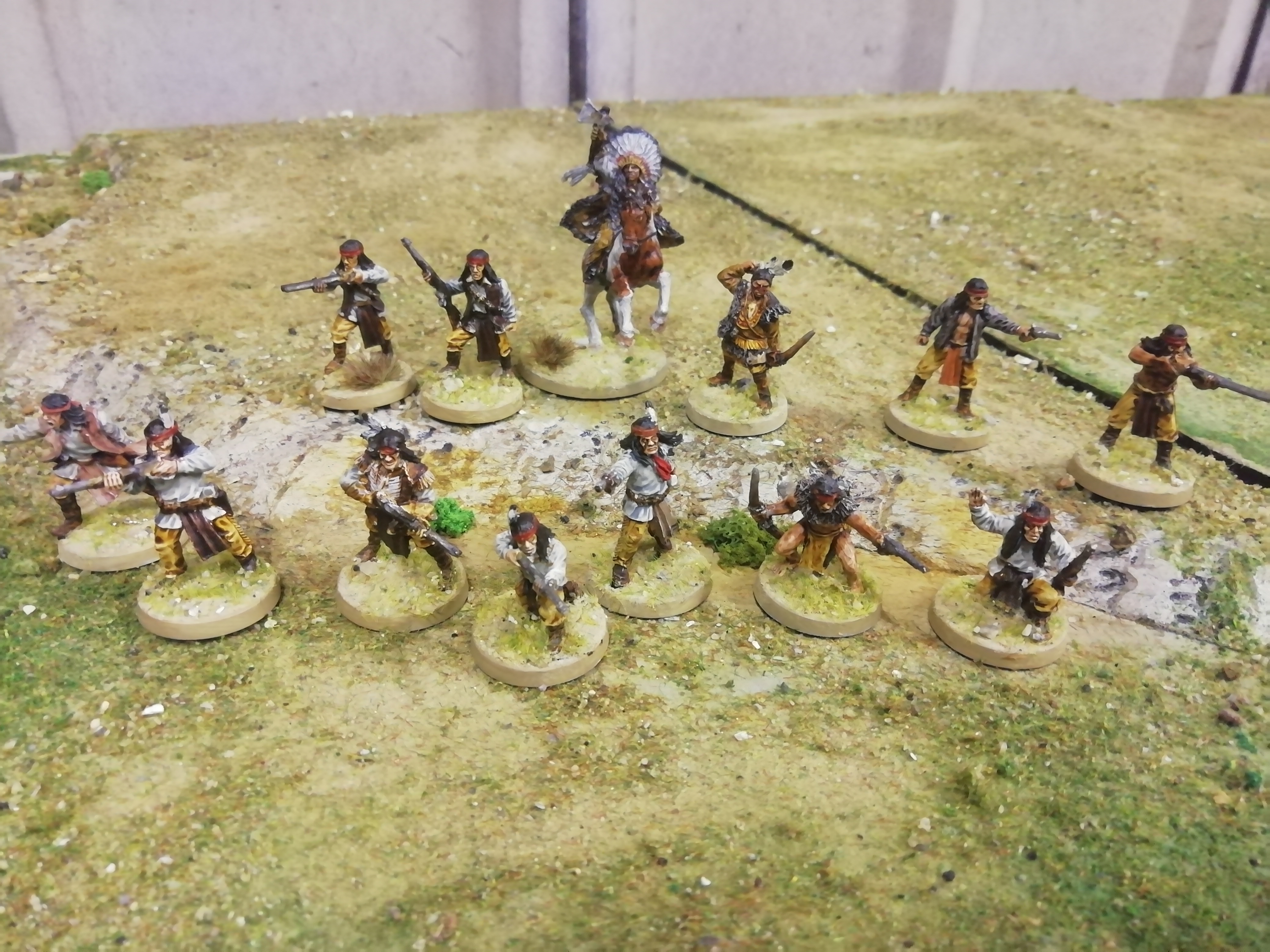 Native American Warband #1 by denzien