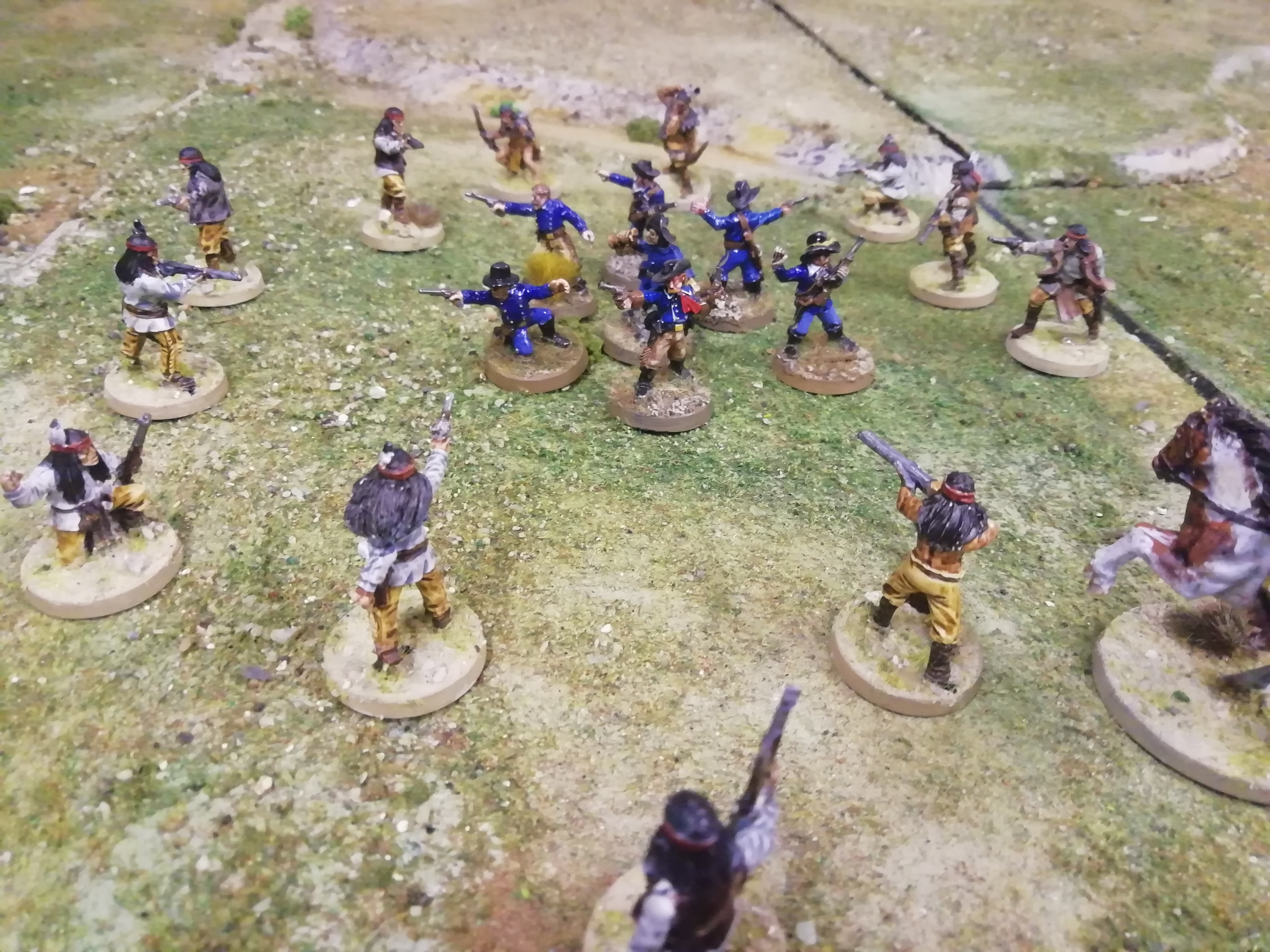 Native American Warband #2 by denzien