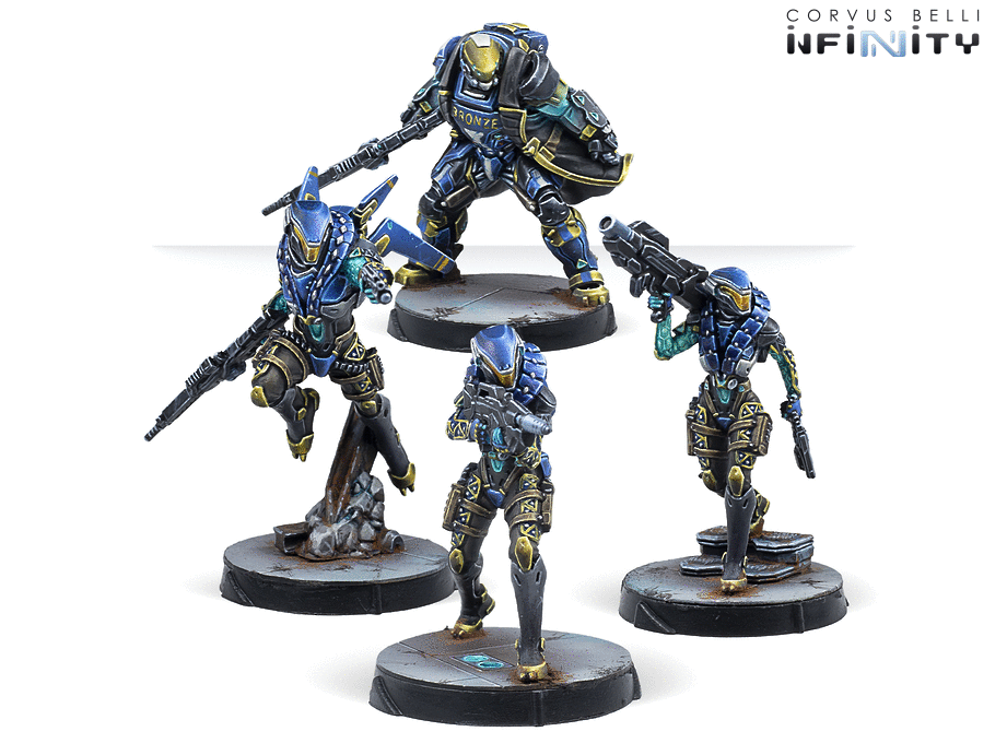 Nyoka Assault Troops - Infinity