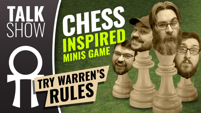 Cult Of Games XLBS: Try This Minis Wargame Homage To Chess; What Would You Change?