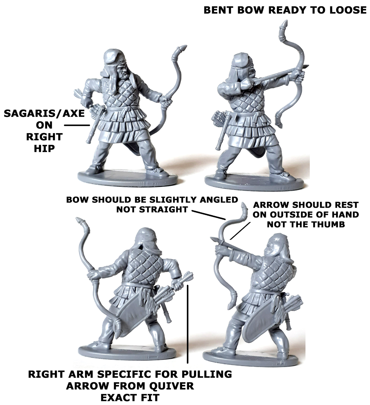 Persian Armoured Archers Example #1 - Victrix