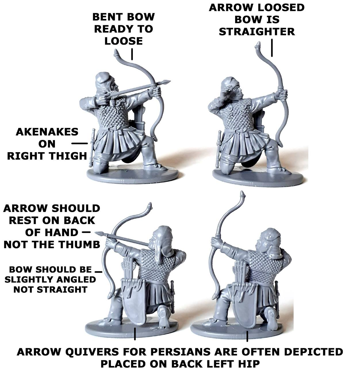Persian Armoured Archers Example #2 - Victrix